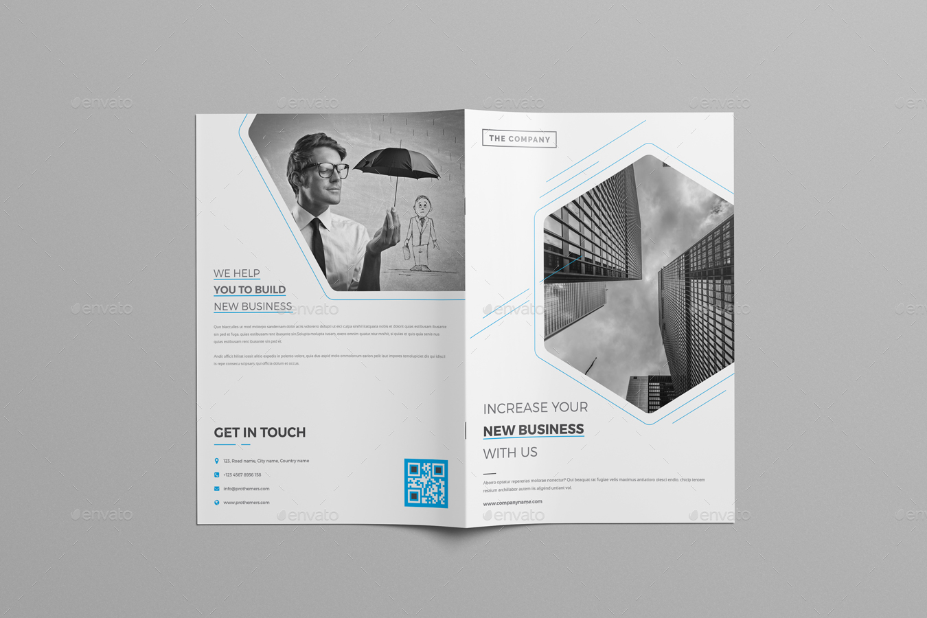 8 page company corporate brochure by nashoaib graphicriver
