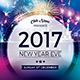 New Year EVE 2017 - GraphicRiver Item for Sale