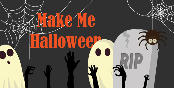 Make Me Halloween - CodeCanyon Item for Sale