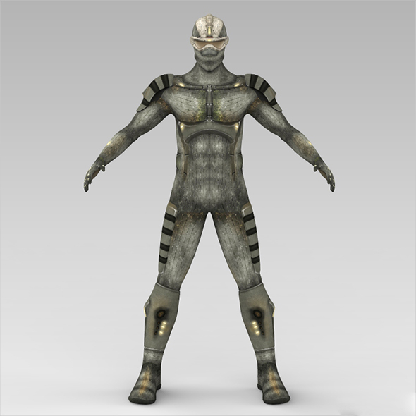 Fantasy Humanoid - 3DOcean Item for Sale