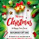 Merry Christmas Flyer V04 - GraphicRiver Item for Sale
