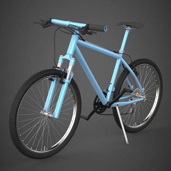 Realistic Bicycle - 3DOcean Item for Sale