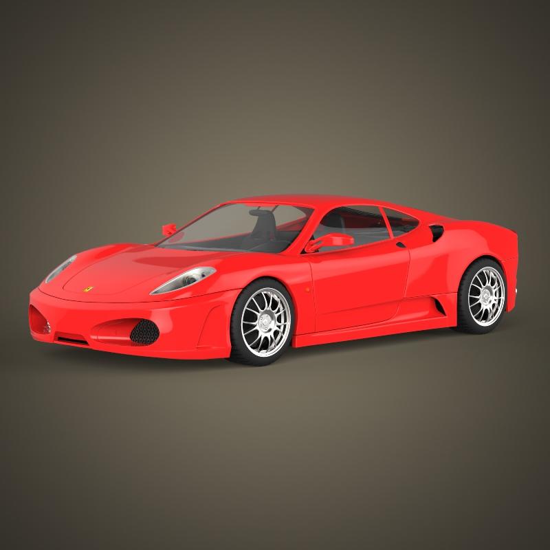 Realistic Sports Car