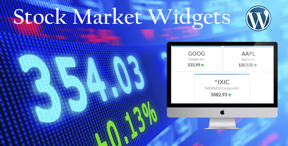 Stock Market Widgets for WordPress - CodeCanyon Item for Sale