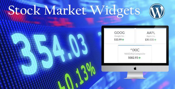 Stock Market Widgets - CodeCanyon Item for Sale