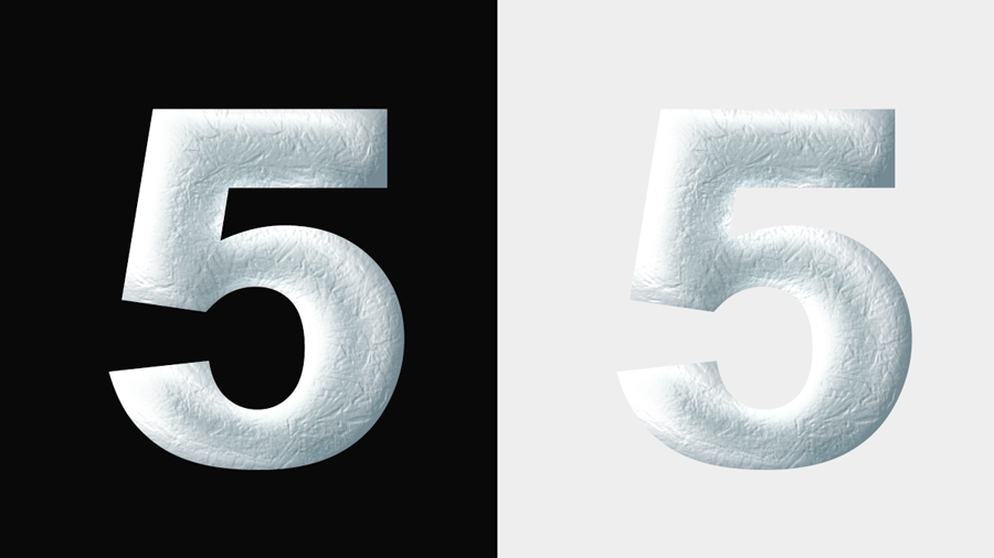 Ice Chrome Photoshop Layer Styles Frozen Metal Text Effect By Giallo