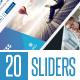 20 Sliders - GraphicRiver Item for Sale