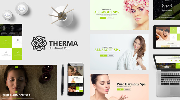 Therma – Spa, Beauty, Cosmetic WordPress Theme