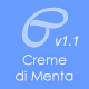 Creme Di Menta - Responsive WordPress Blog - ThemeForest Item for Sale