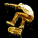 Realistic Dripping Gold Photoshop Action Nulled