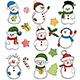 Snowman Collection - GraphicRiver Item for Sale