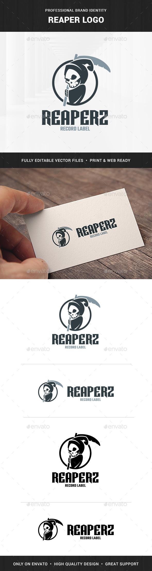 Reaper Logo Template - Humans Logo Templates