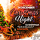 Xmas Night Flyer Template - GraphicRiver Item for Sale