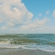 Sea Surf On a Cloudy Day - VideoHive Item for Sale