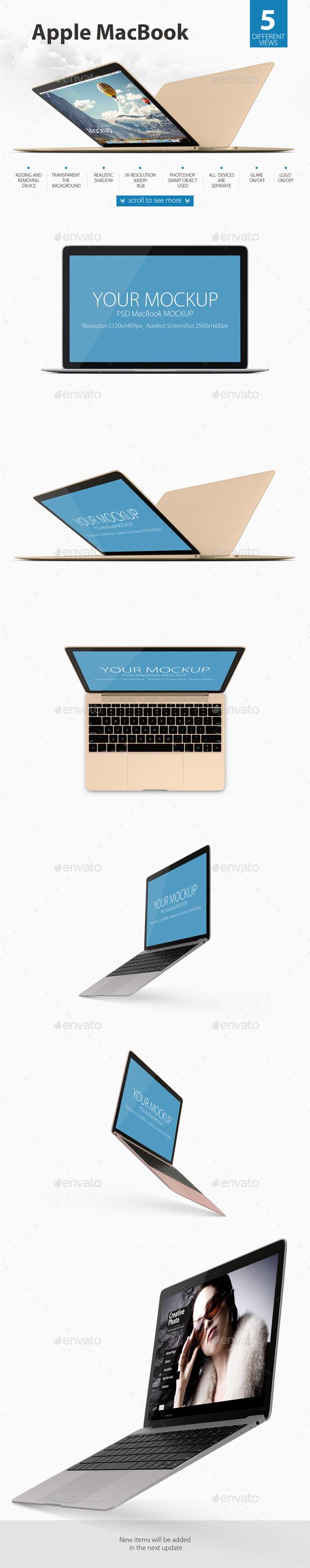 Laptop Mock-ups - Laptop Displays