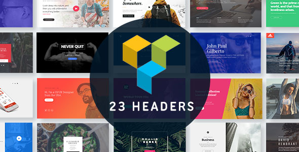 Headers for Visual Composer - CodeCanyon Item for Sale