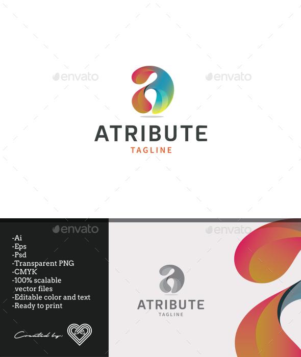 Atribute - Letters Logo Templates