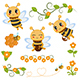 Honey Bee - GraphicRiver Item for Sale