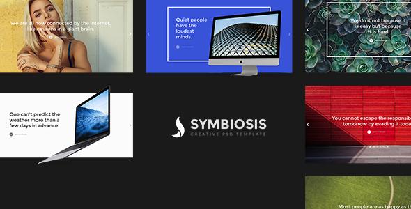 Symbiosis - Creative PSD Template