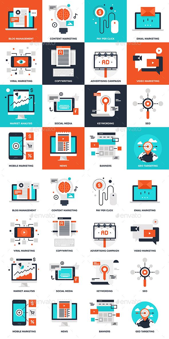 Digital Marketing - Business Conceptual