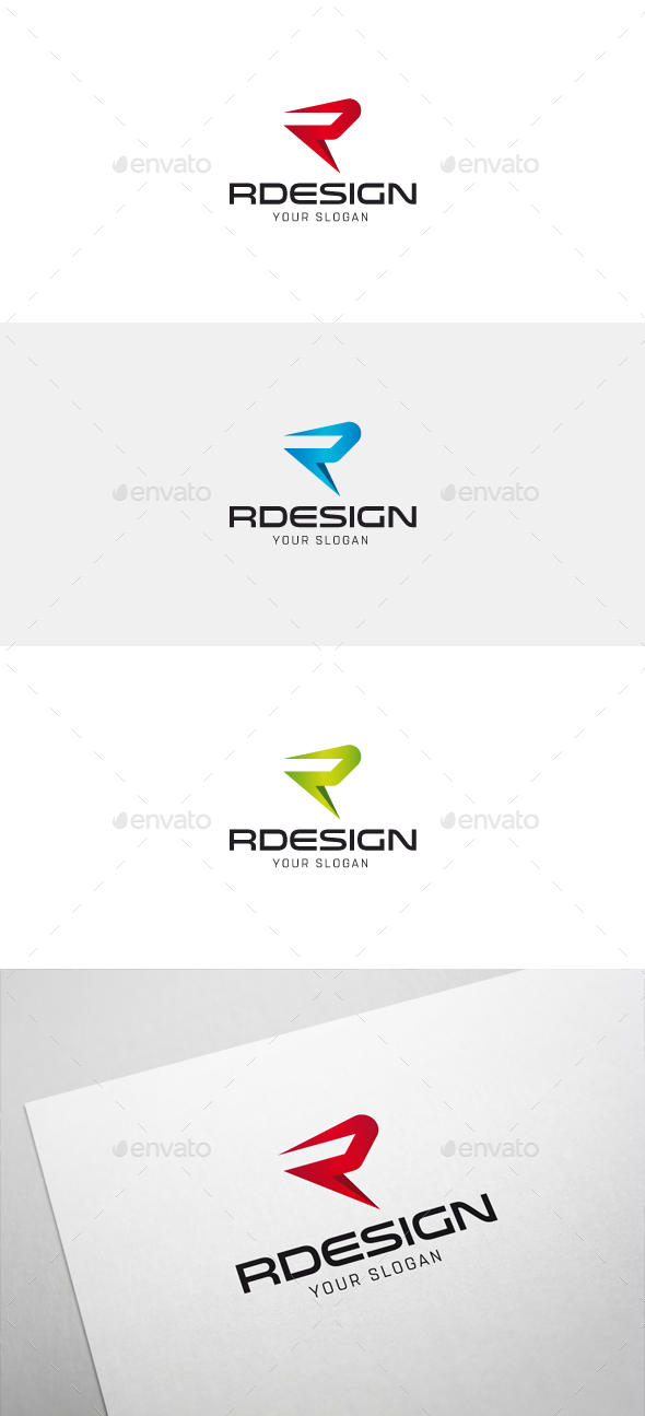 Rdesign r letter logo by flatos graphicriver rdesign r letter logo letters logo templates thecheapjerseys Images