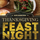 Thanksgiving Feast Night Flyer - GraphicRiver Item for Sale