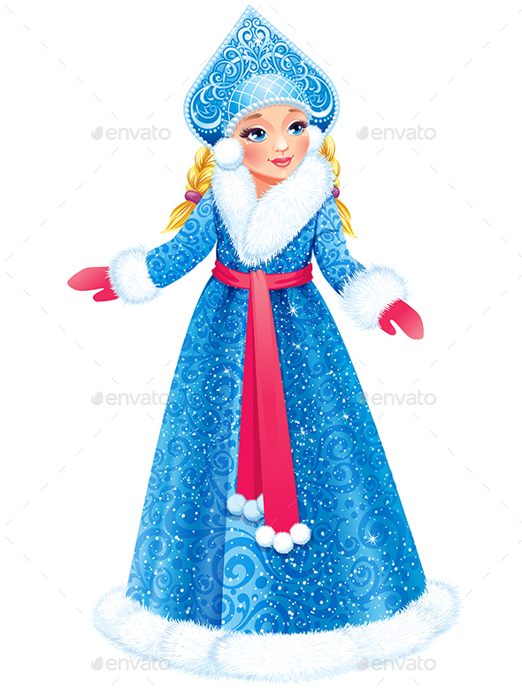 Snow Maiden - People Characters
