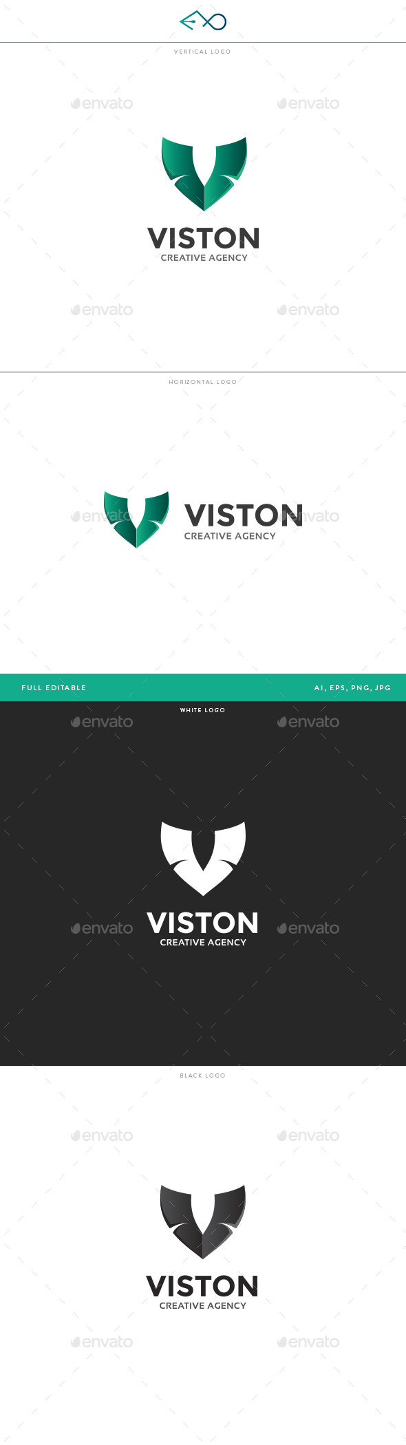 Viston Logo - Letters Logo Templates