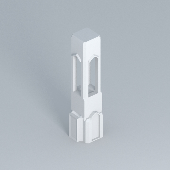Medieval tower LowPoly