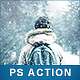 Let It Snow - Photoshop Action - GraphicRiver Item for Sale