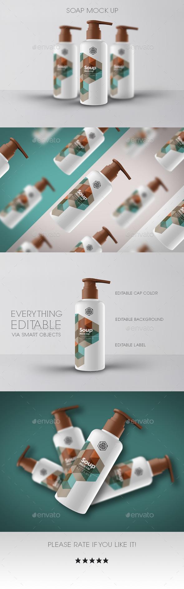 Soap Mock Up - Beauty Packaging