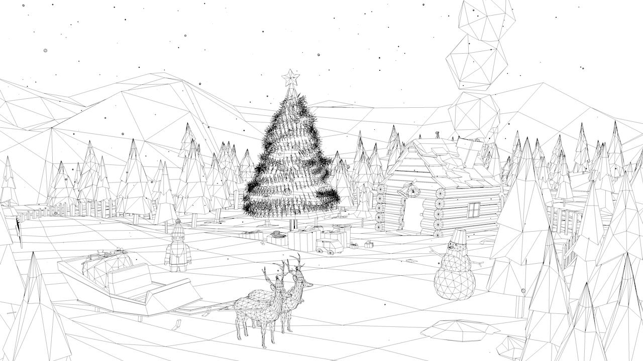 Low Poly Christmas Asset By Antonmoek 3docean