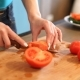 Woman Cutting Tomatoes - VideoHive Item for Sale