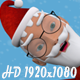 Santa Claus Jumping - VideoHive Item for Sale