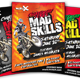 Motocross Mad Skills Flyer