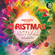 Christmas Festival Remixes CD/ DVD Photoshop Template - GraphicRiver Item for Sale
