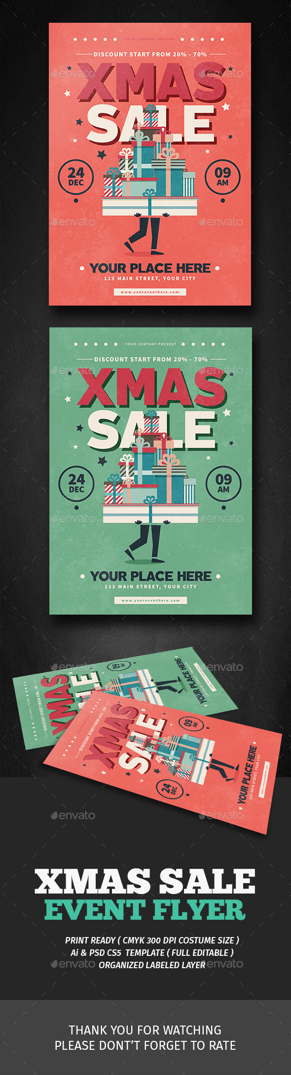 Xmas Sale Flyer - Events Flyers