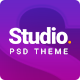 STUDIO | A Creative Agency Multipurpose PSD Template - ThemeForest Item for Sale