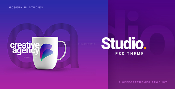 STUDIO | A Creative Agency Multipurpose PSD Template - Business Corporate
