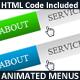 Animated Menus - GraphicRiver Item for Sale