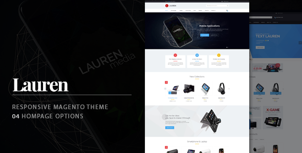 Image of Lauren - Technology Responsive Magento Theme