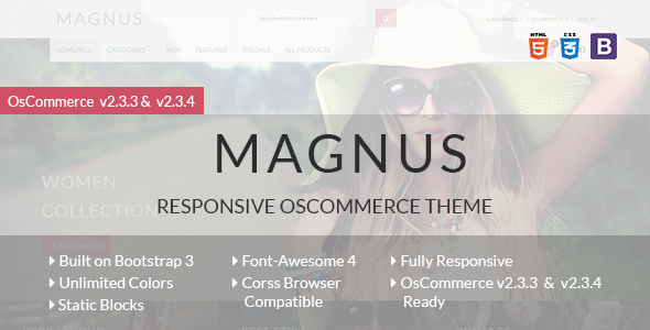 Image of Magnus - Responsive osCommerce Theme