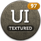 Textured UI Kit - GraphicRiver Item for Sale