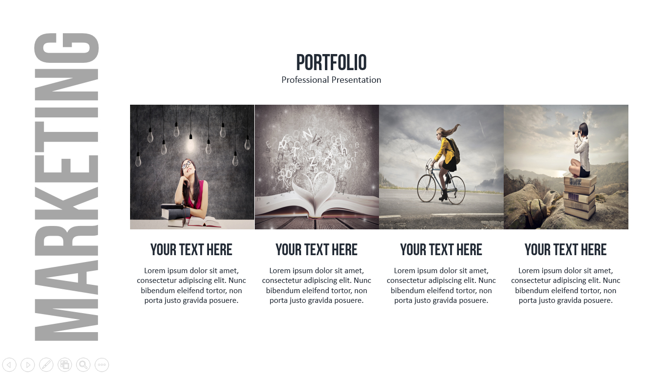Marketing Powerpoint Presentation Template by loveishkalsi ...