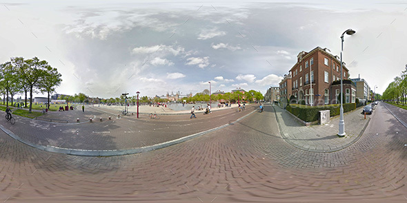 Amsterdam HDRI - 3DOcean Item for Sale
