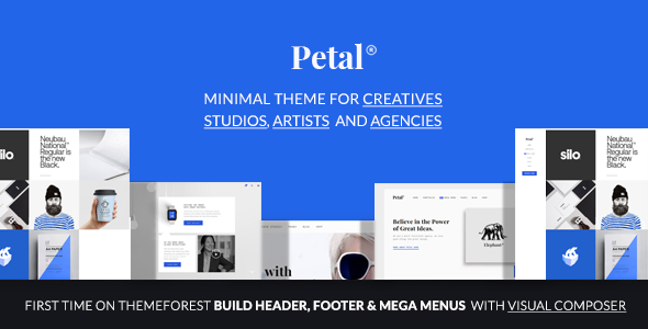 Petal – Creative Portfolio for Freelancer and Agency
