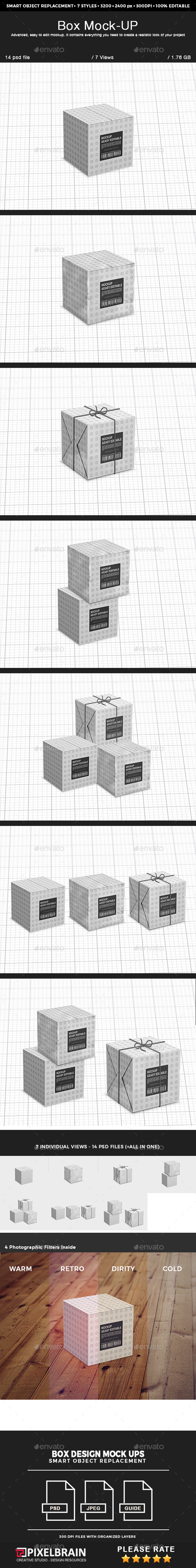 Box Mock-up - Miscellaneous Print