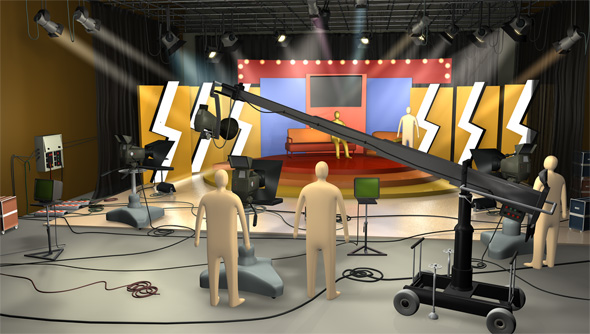 TisWas Film Studio - 3DOcean Item for Sale
