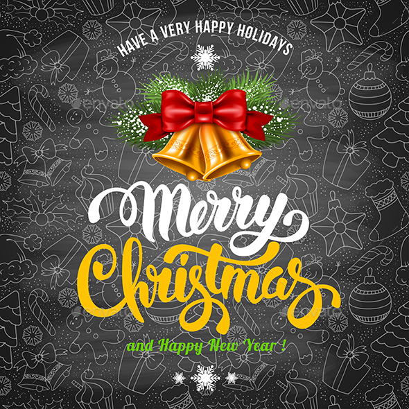 Merry Christmas Greeting - Christmas Seasons/Holidays