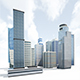Skyscrapers Building Pack - 3DOcean Item for Sale